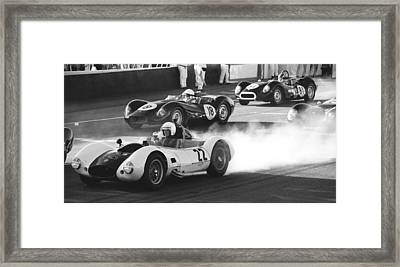 Sadler Chevrolet Mk3 Framed Print by Robert Phelan