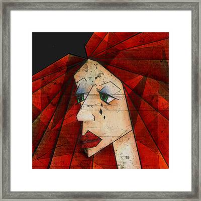 Sadness Framed Print by Brenda Bryant