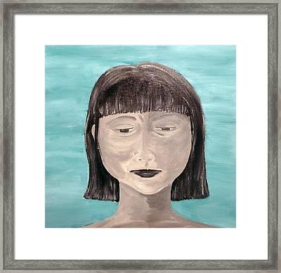 Sadness Framed Print by Jennifer Hernandez