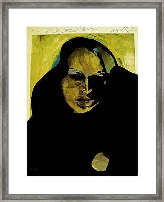 Sadness Framed Print by Noredin Morgan