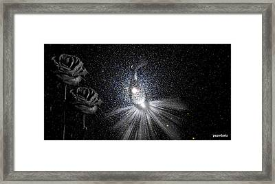 Sadnesses Are Beauties Erased By Suffering Framed Print