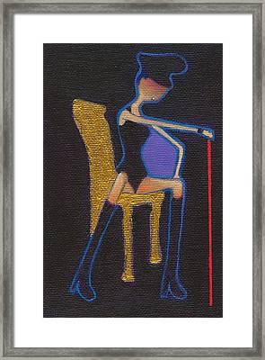 Sado Sutan Framed Print by Ricky Sencion