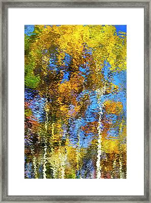 Safari Mosaic Abstract Art Framed Print by Christina Rollo