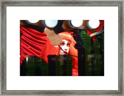 Safe Behind My Fence Framed Print by Jez C Self