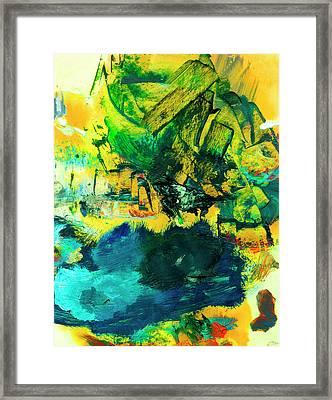 Safe Harbor #305 Framed Print by Donald k Hall