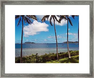 Safe Harbor Framed Print by Anthony Baatz