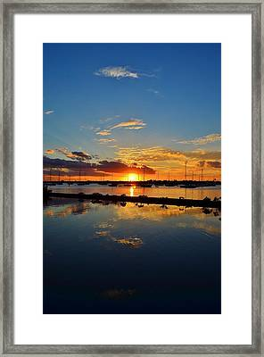 Safe Harbor Framed Print by Bo Chambers