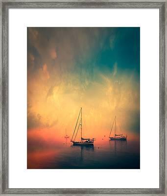 Safe Harbor Framed Print by Bob Orsillo