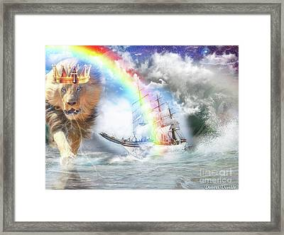 Safe Harbor  Framed Print by Dolores Develde