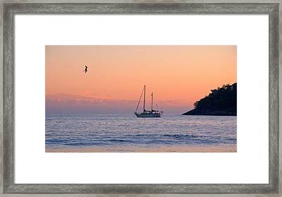 Safe Harbor Framed Print