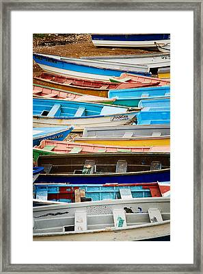 Safe Harbor Framed Print by Scott Baker