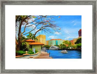 Safe Harbor Series 60 Framed Print