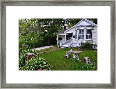 Safe Haven House Southport Framed Print