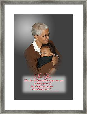 Safe Love Framed Print by Richard Gordon