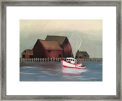Safe Sailing Framed Print by Ramya Sundararajan
