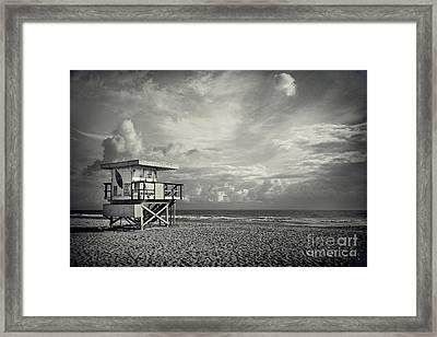 Safe Upon The Shore Framed Print