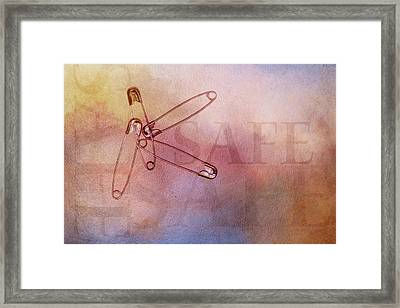 Safe With Me Framed Print