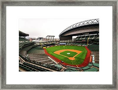 Safeco Field - Home Of The Mariners Framed Print