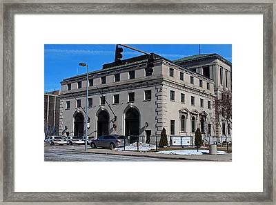 Safety Building Framed Print