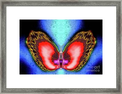 Saffron Winterberry Framed Print