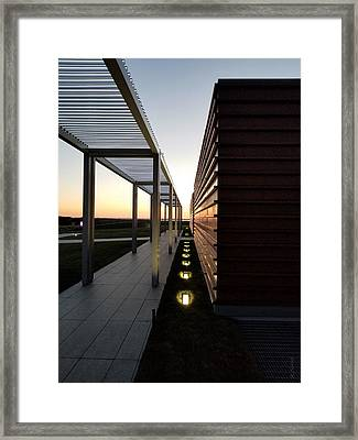 Framed Print featuring the photograph Sag Harbor Sunset 1 by Rob Hans