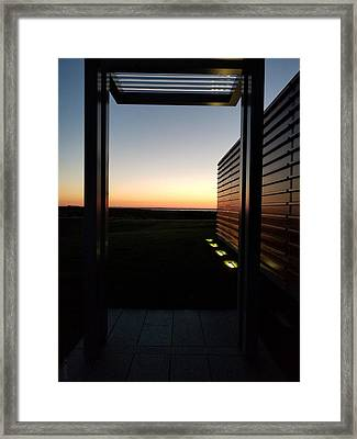 Framed Print featuring the photograph Sag Harbor Sunset 2 by Rob Hans