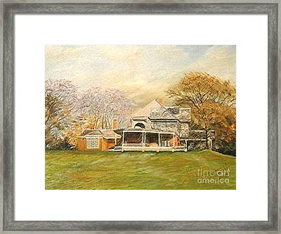 Sagamore Hill Framed Print by Nicholas Minniti