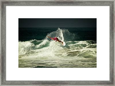 Sage Erickson Framed Print by Waterdancer