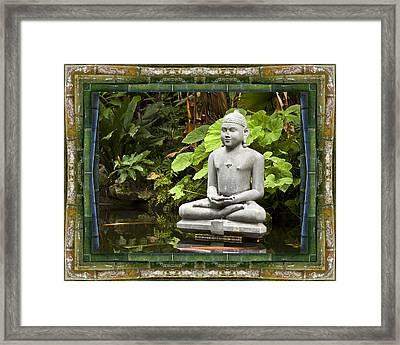 Sage Of Peace Framed Print