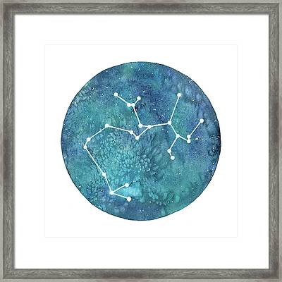 Sagittarius  Framed Print by Stephie Jones