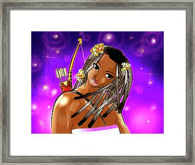 Sagittarius The Archer Framed Print