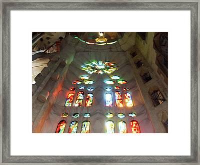 Sagrada Familia Framed Print by Patrick Rabbat