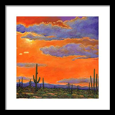 Southwest Framed Prints