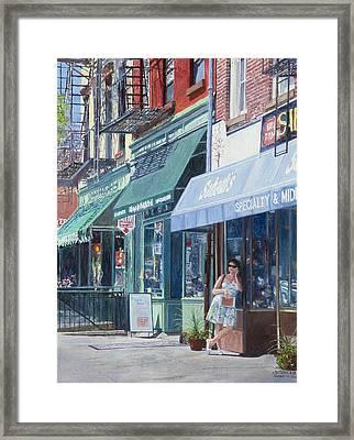 Sahadis Atlantic Avenue Brooklyn Framed Print
