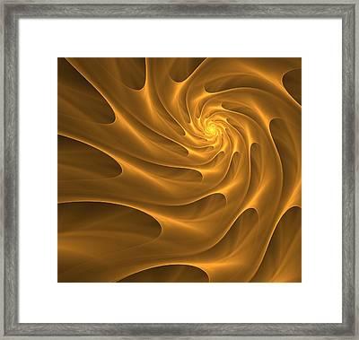 Golden Sahara Framed Print by Anna Bliokh