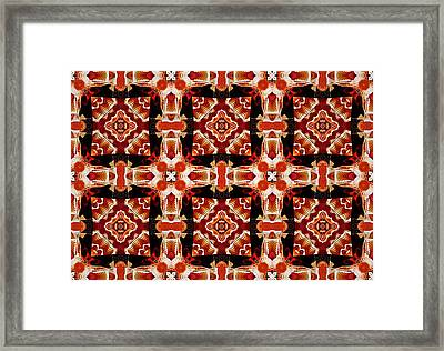 Framed Print featuring the digital art Sahara by Charmaine Zoe