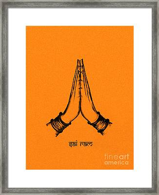 Sai Ram Framed Print by Tim Gainey