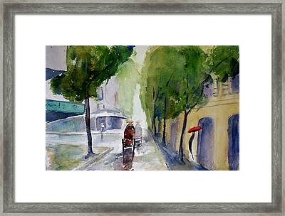 Saigon 1967 Tu Do Street Framed Print