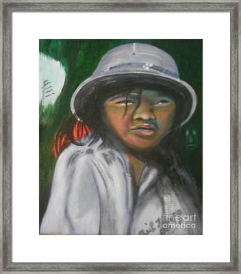 Saigon Soldier Framed Print by Neil Trapp