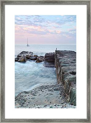 Sail Away Framed Print by Adam Smith