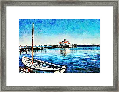 Framed Print featuring the painting Sail Away by Joan Reese