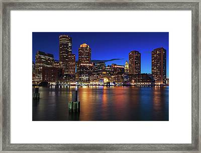 Framed Print featuring the photograph Sail Boston Tall Ships Europa And Atyla by Juergen Roth