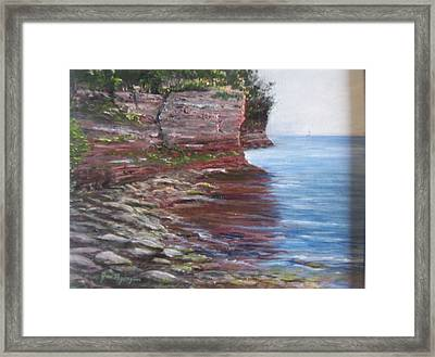 Sail Into The Light Framed Print
