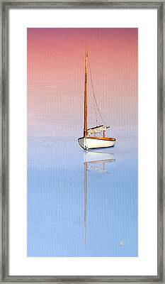 Sail To Serenity Framed Print by Michael Petrizzo