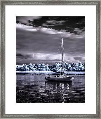 Sailboat 01 Framed Print