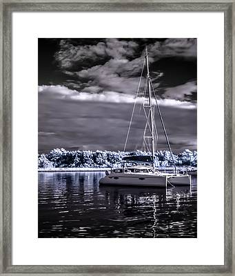 Sailboat 02 Framed Print