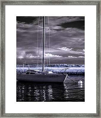 Sailboat 03 Framed Print