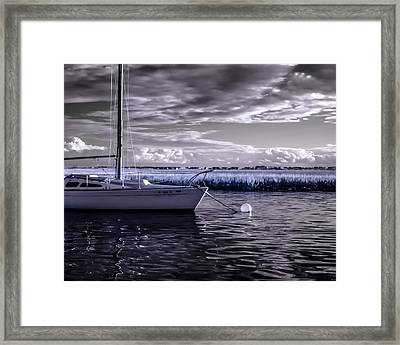 Sailboat 04 Framed Print