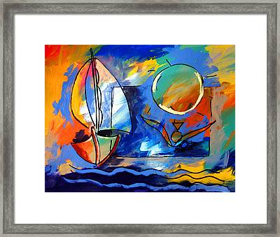 Sailboat 1 Framed Print