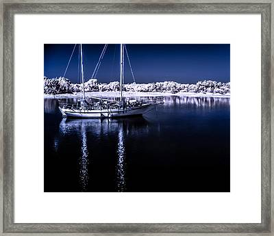 Sailboat 28 Framed Print